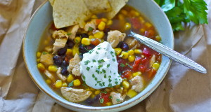 Southwest Chicken Soup Gluten Free