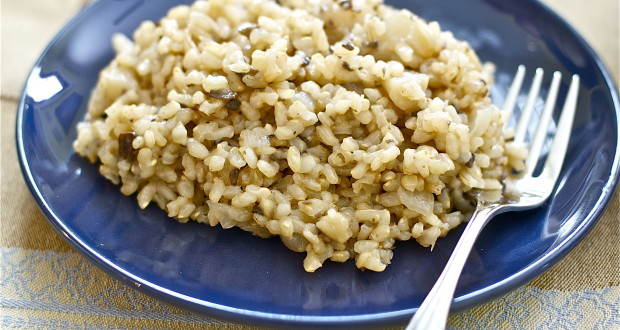 how to make yummy brown rice