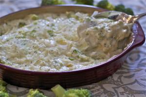 Hot Broccoli Dip Gluten Free