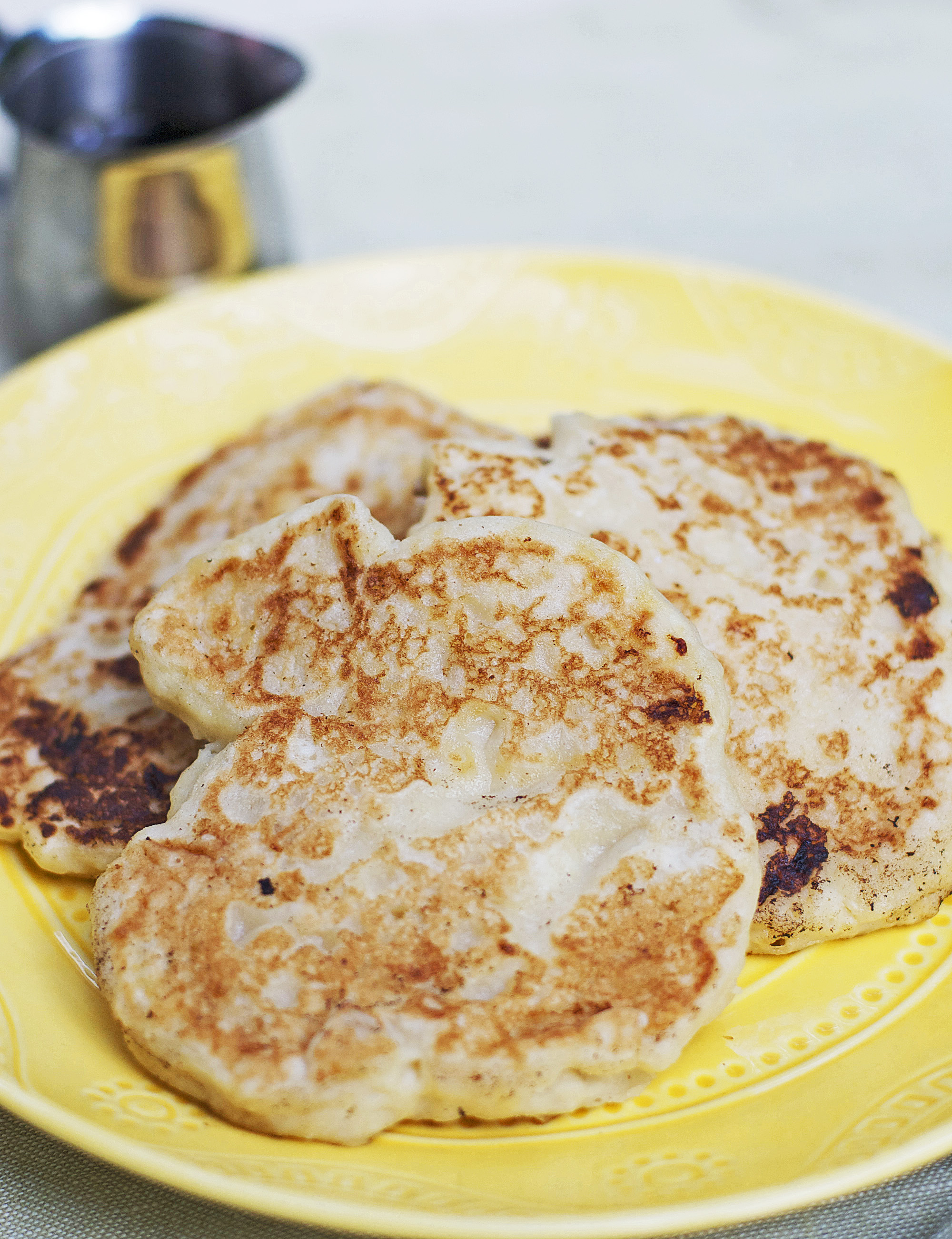 Cream Cheese Pancakes Gluten Free Dairy Free | Let's Be Yummy