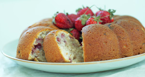 Strawberry Pound Cake Gluten Free