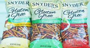 Snyder's of Hanover Gluten, Dairy, Egg and Casein Free Pretzels