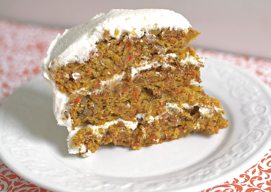 Easy Gluten-Free Carrot Cake Recipe | Let's Be Yummy