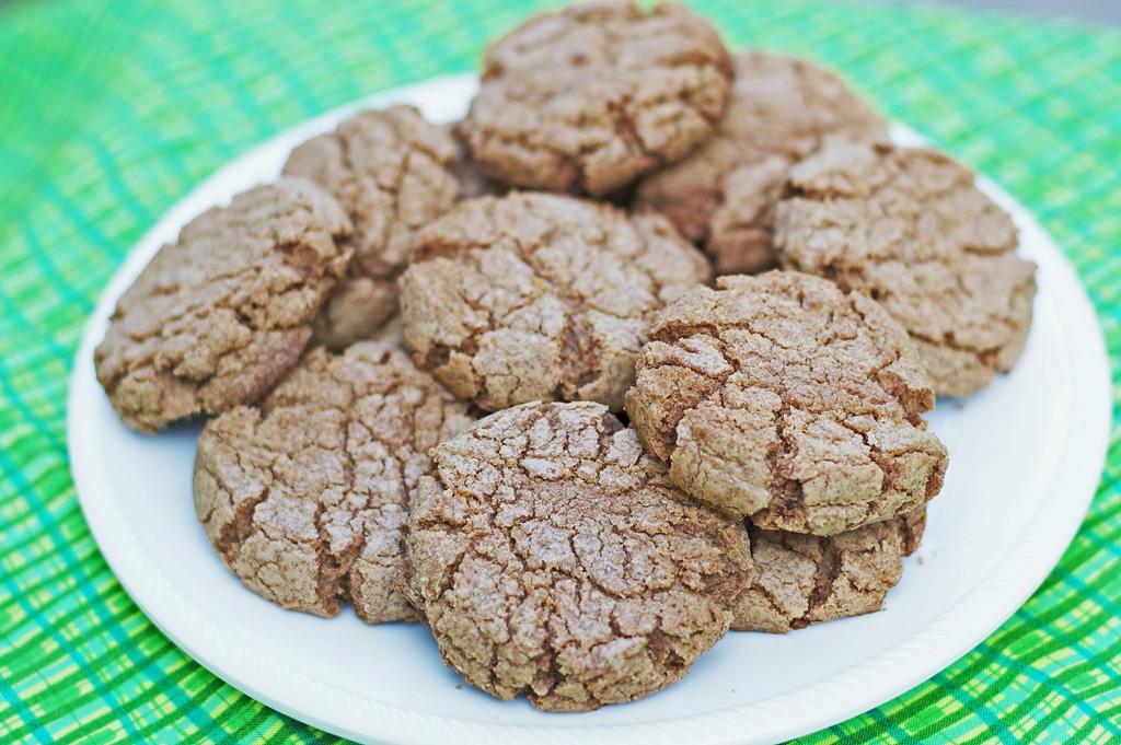 Chocolate Sugar Cookies Gluten Free Dairy Free