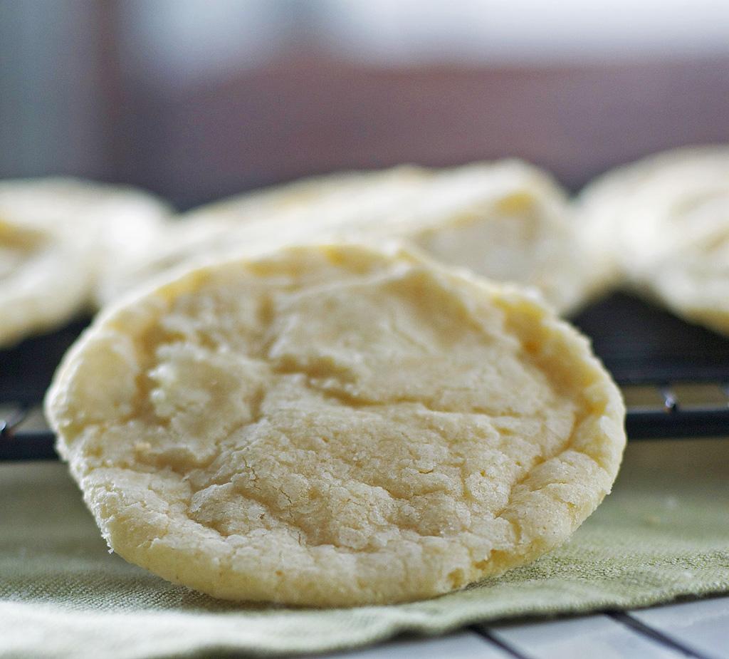 Gluten Free Lemon Cookies Dairy Free