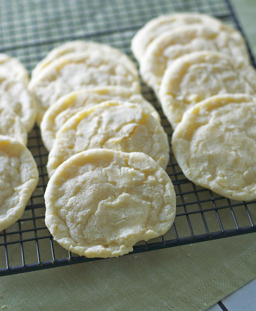 Dairy Free Lemon Cookies Gluten Free