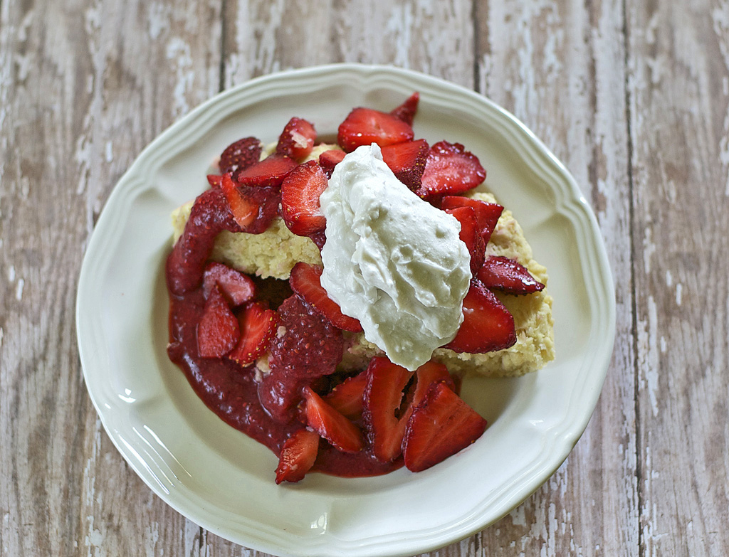 Strawberry Shortcake Gluten Free Dairy Free