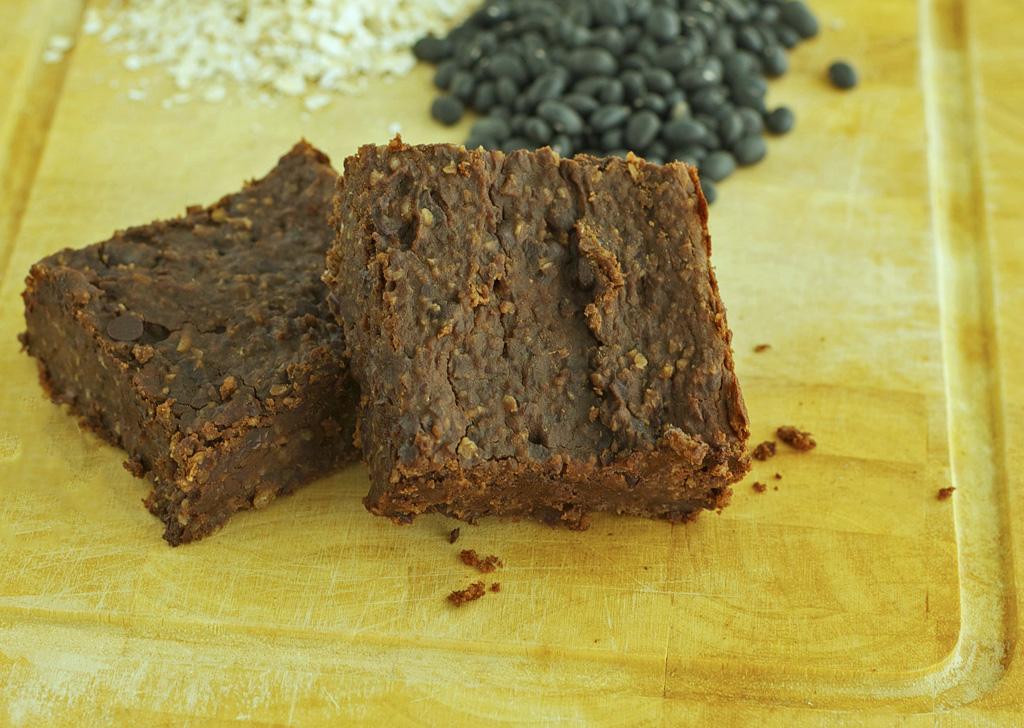 Black Bean Brownies Gluten Free, Dairy Free, Vegan