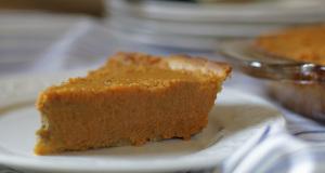 Pumpkin Pie Gluten Free Recipe