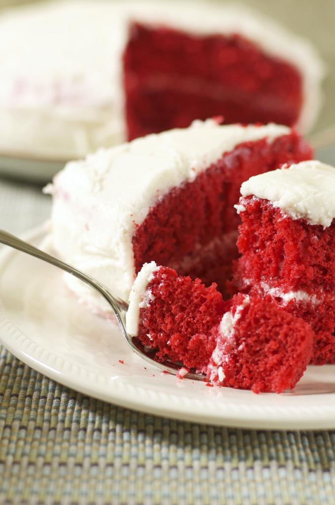 Red Velvet Cake Gluten Free Dairy Free