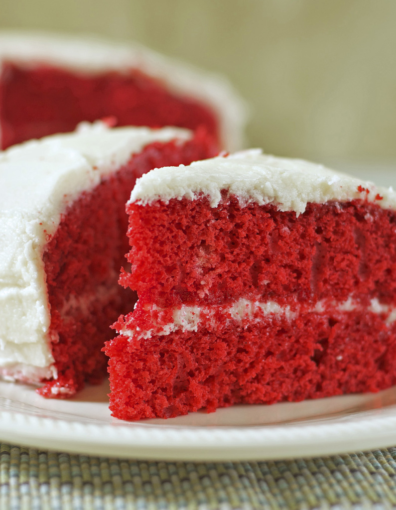 Gluten And Dairy Free Red Velvet Cake