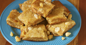 Gluten Free Lemon Blondies Recipe