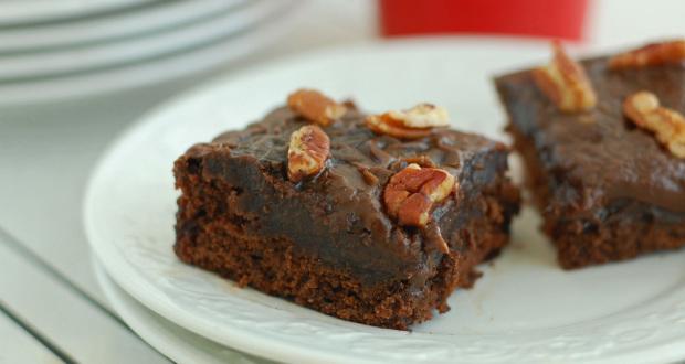 Mocha Cake with Chocolate Espresso Icing Gluten Free Dairy Free