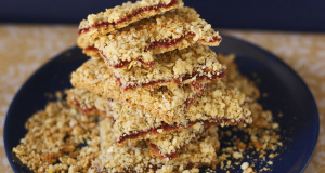 Oatmeal Jam Bars Gluten Free Dairy Free Recipe
