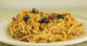 Taco Spaghetti Bake Gluten Free Recipe