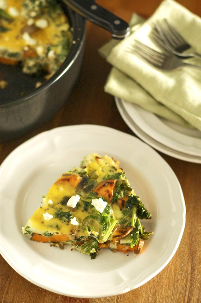 Sweet Potato Kale Frittata Recipe