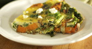 Sweet Potato Kale Frittata Recipe