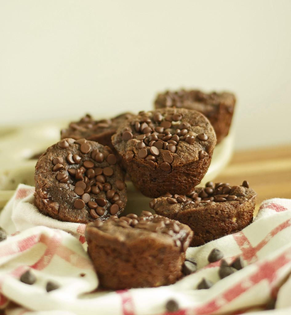 Chocolate Banana Muffins Gluten Free Recipe