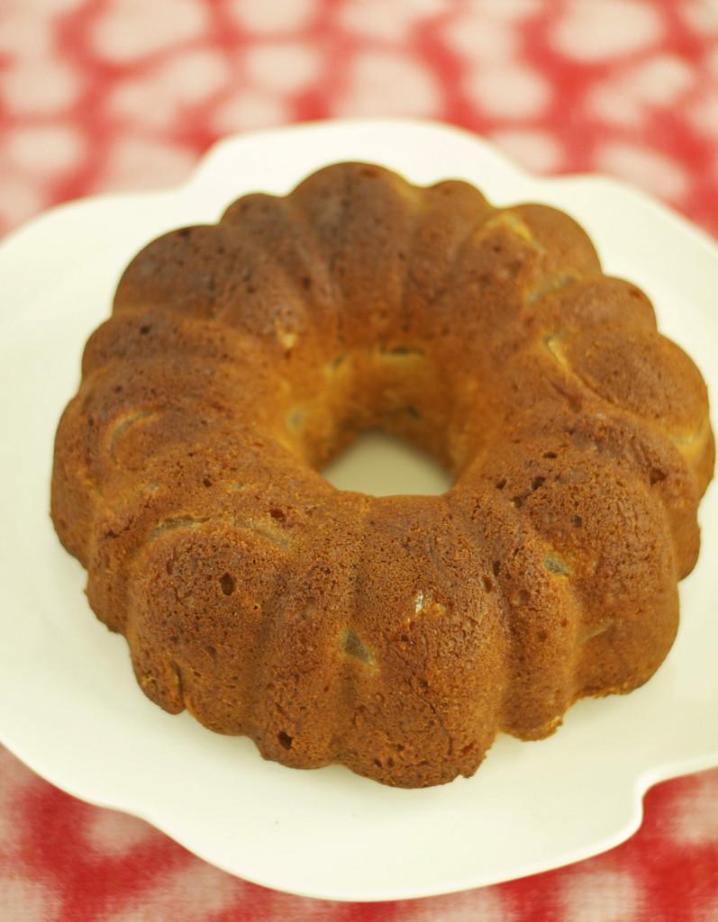 Gluten Free Dairy Free Apple Bundt Cake