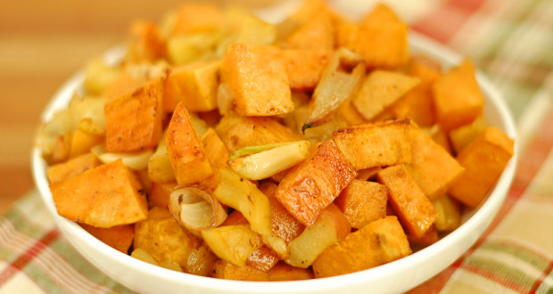 ... roasted sweet potato and apple soup recipe yummly sweet potato and