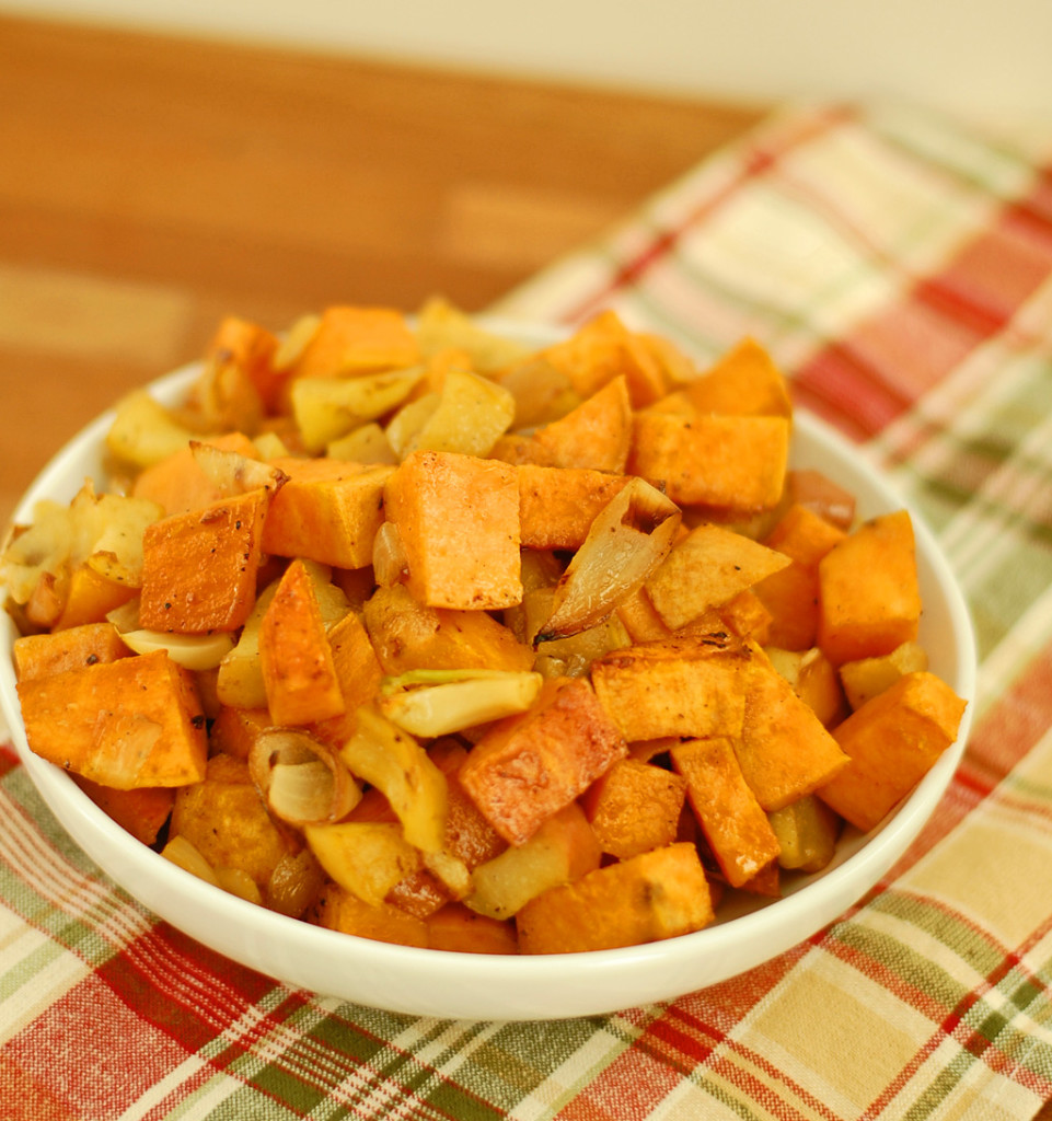 Roasted Sweet Potato and Apple
