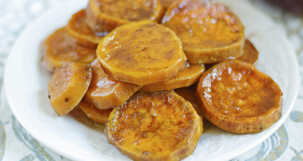 Dairy Free Baked Candied Yams