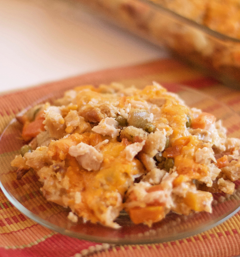 Holiday Leftovers Turkey Casserole