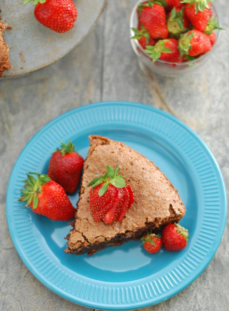 Flour-less Chocolate Cake Recipe