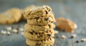 Gluten Free Peanut Chocolate Chip Cookies