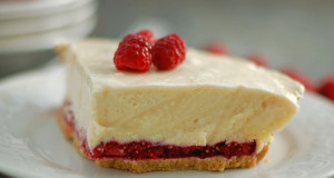 Gluten Free Raspberry Cream Pie