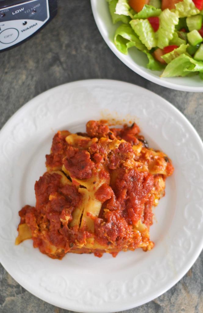 Slow Cooker Gluten Free Lasagna Recipe