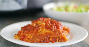 Slow Cooker Gluten Free Lasagna Recipe