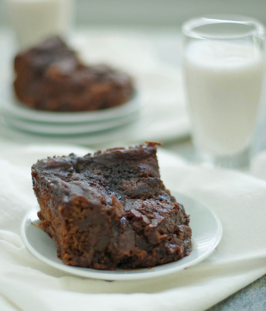 Gluten Free Hot Fudge Pudding Cake
