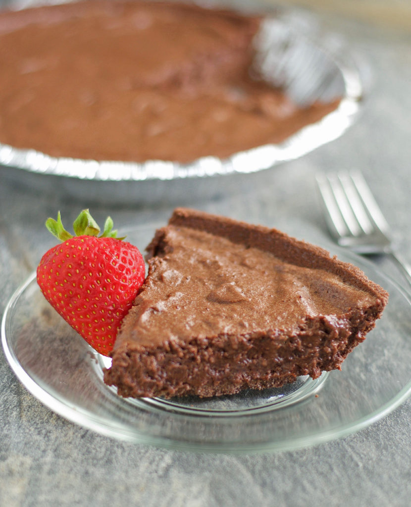 Chocolate Mousse Pie Gluten and Dairy Free