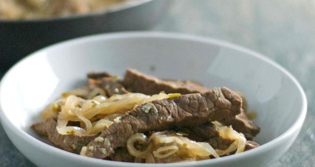 Gluten Free Peruvian Steak Saute