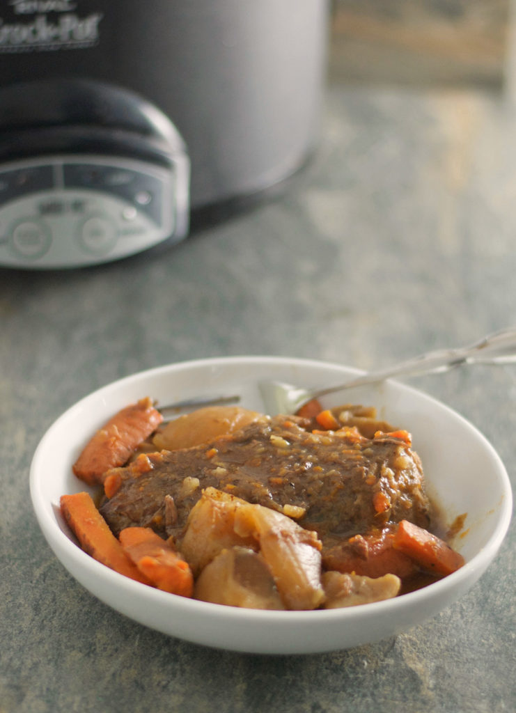 Slow Cooker Roast with Veggies