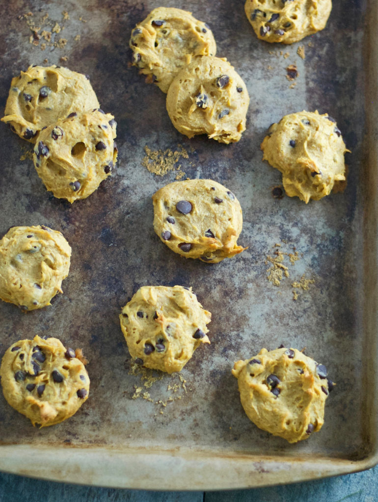 Gluten Free Pumpkin Chocolate Chip Cookies Recipe