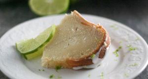 Gluten Free Lime Pound Cake