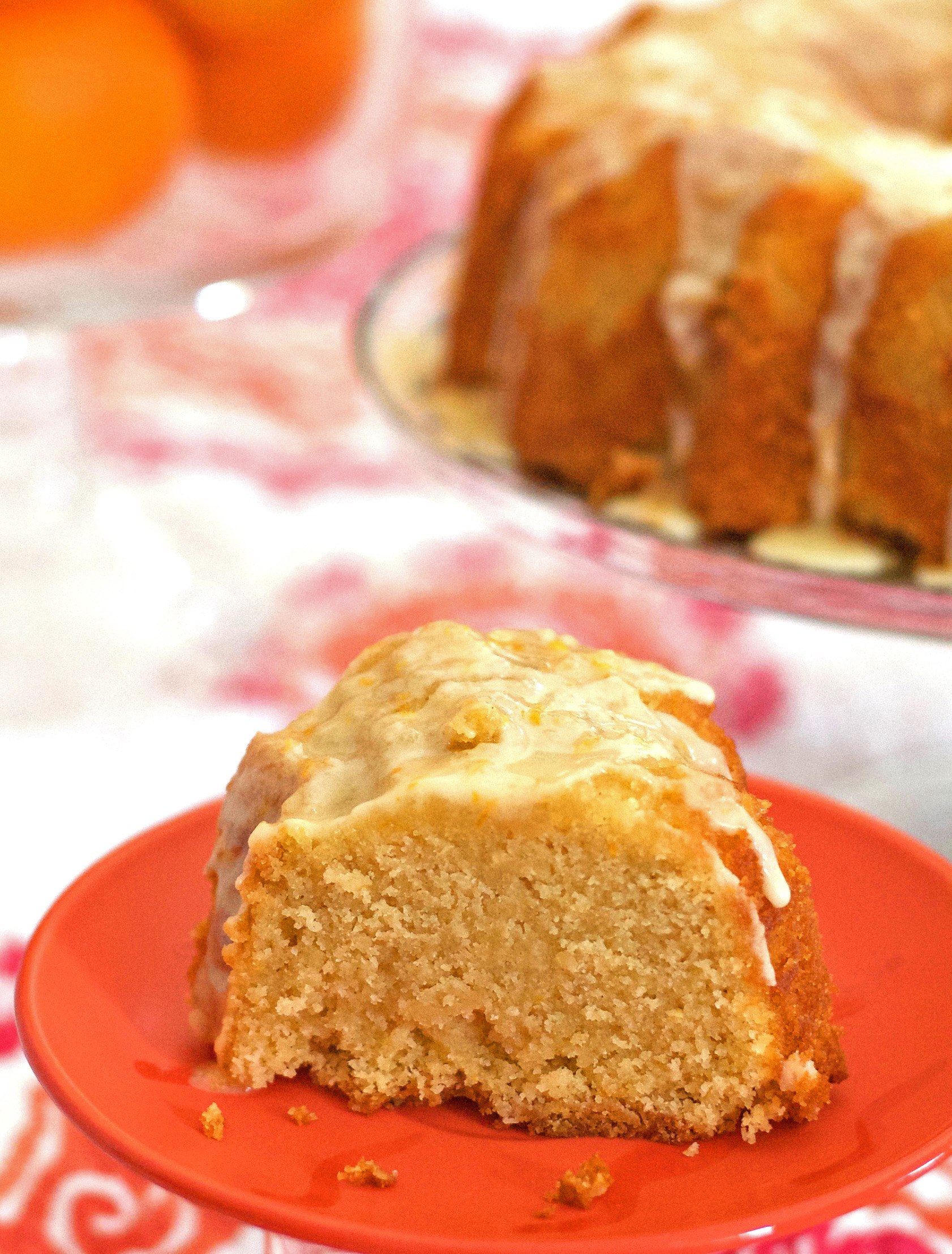 Gluten Free Orange Pound Cake Recipe