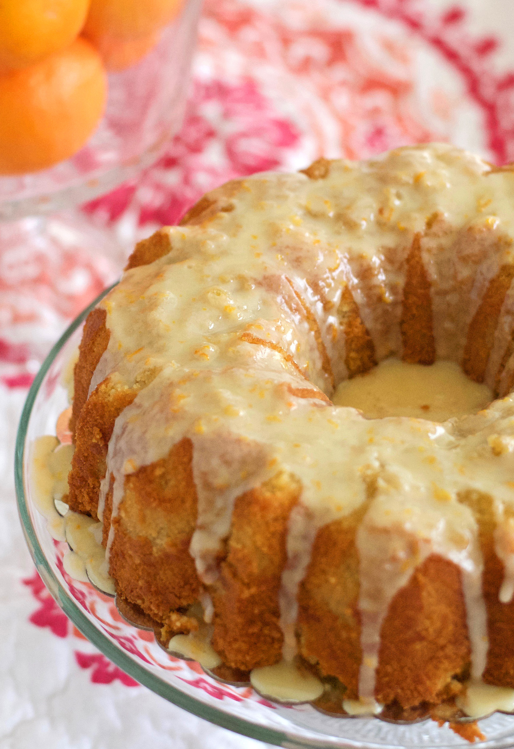 Orange Blossom Pound Cake Recipe