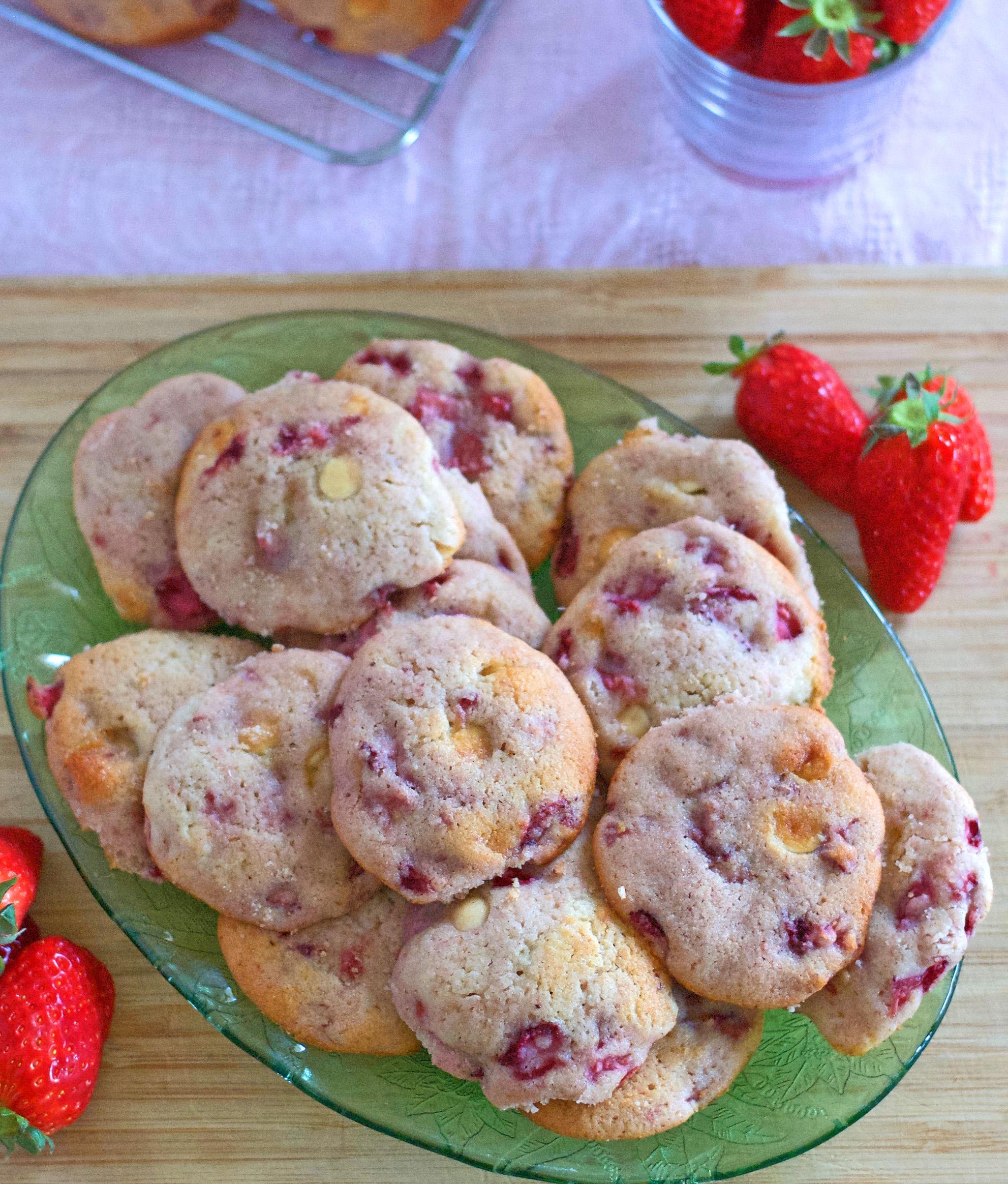 Gluten Free Strawberry Shortcake Cookies Recipe