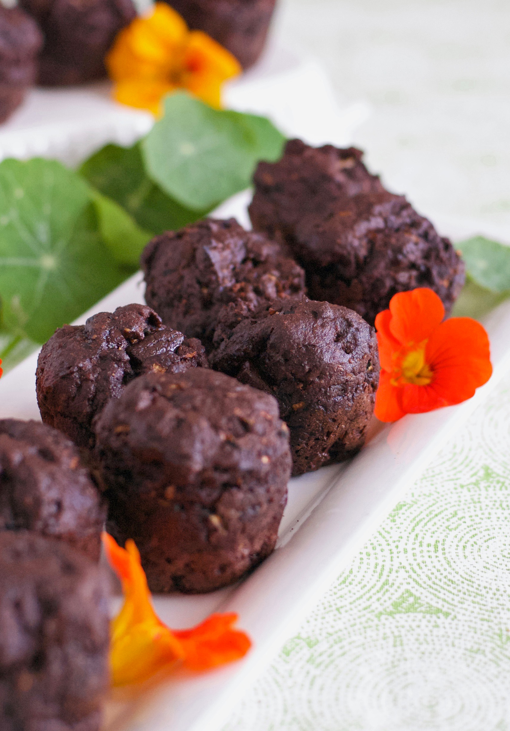 Gluten and Dairy Free Chocolate Zucchini Muffins Recipe